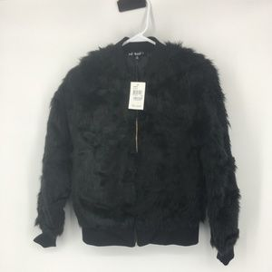 NWT Say What ? Faux Fur Jacket Size XS